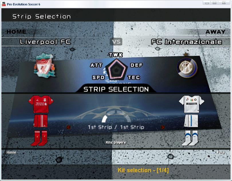 New Update Kit Pes 6 2012